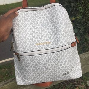 Michael Kors Casual Shoulder Leather Backpack